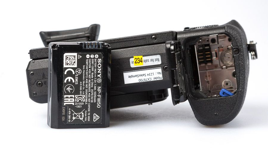 Sony A6500 test review batterie
