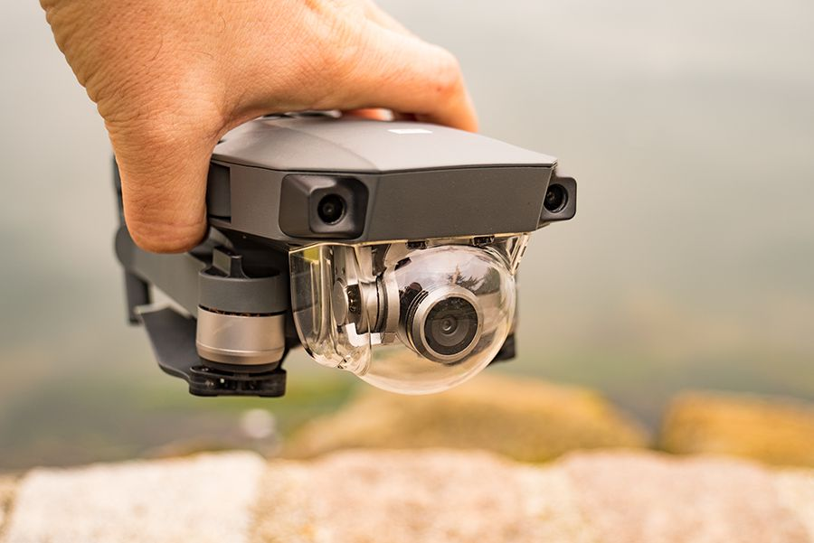 DJI Mavic Pro test review detail module video