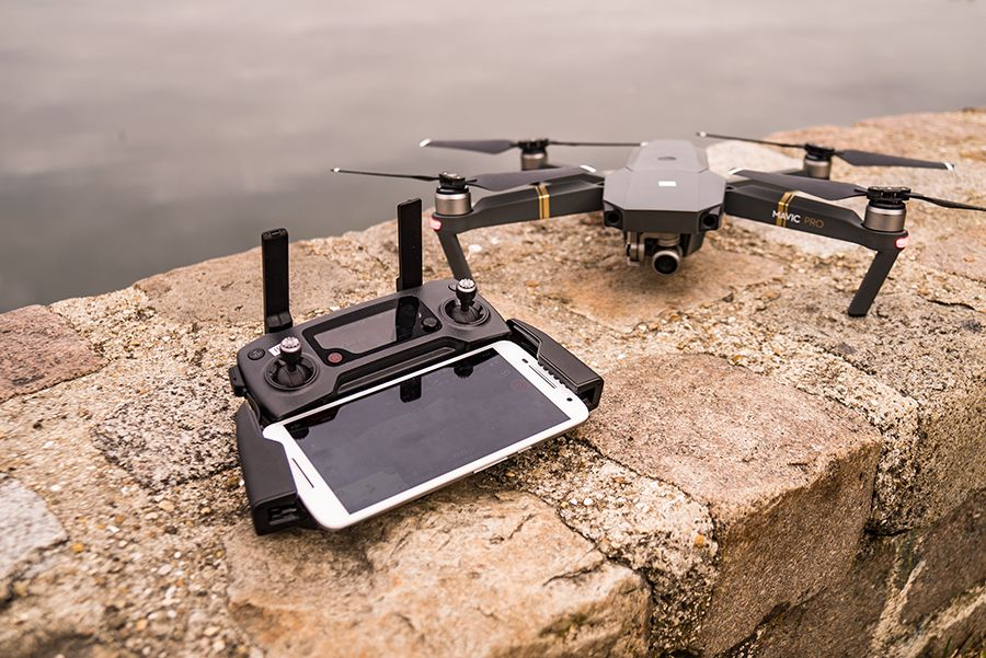 DJI Mavic Pro test review telecommande