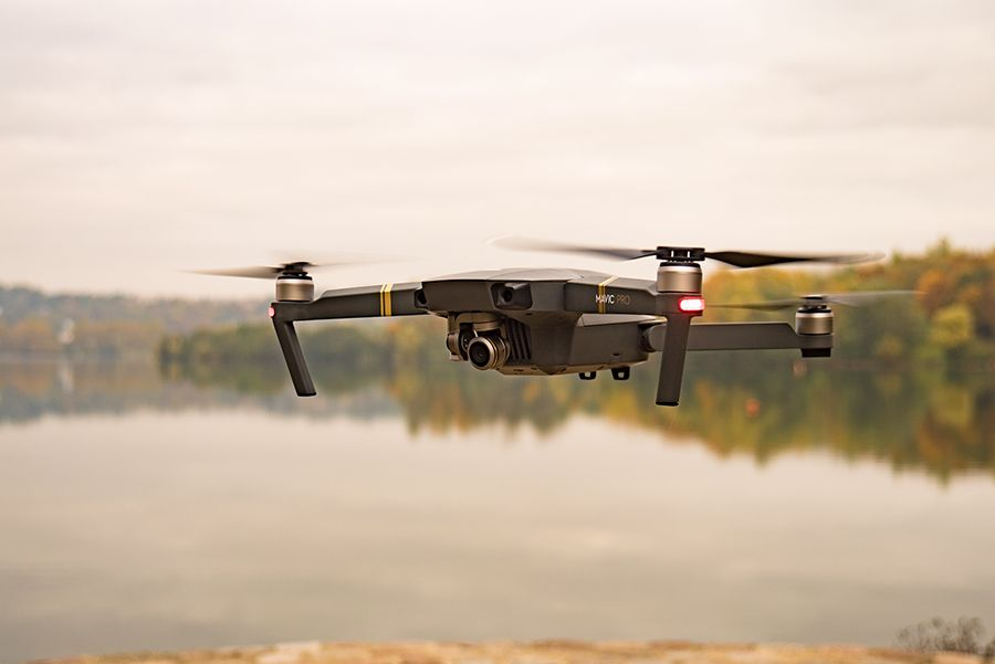 DJI Mavic Pro test review premiers vols
