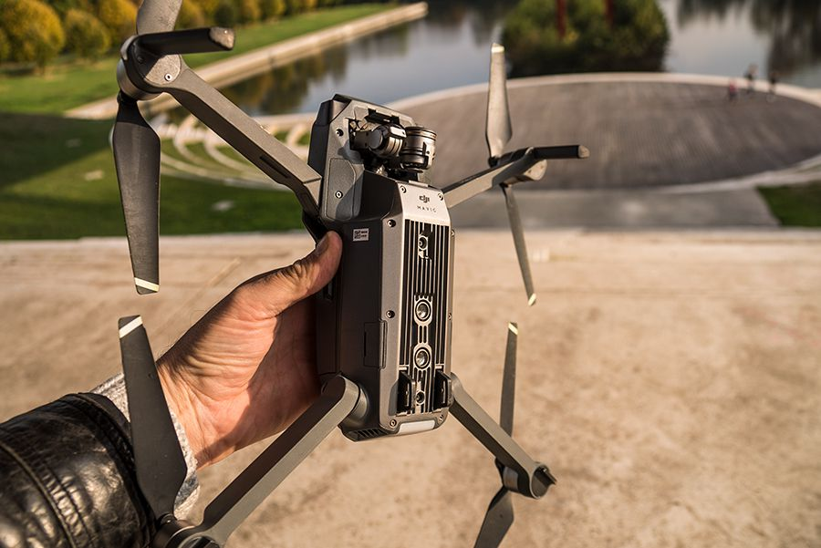 DJI Mavic Pro test review detail des bras