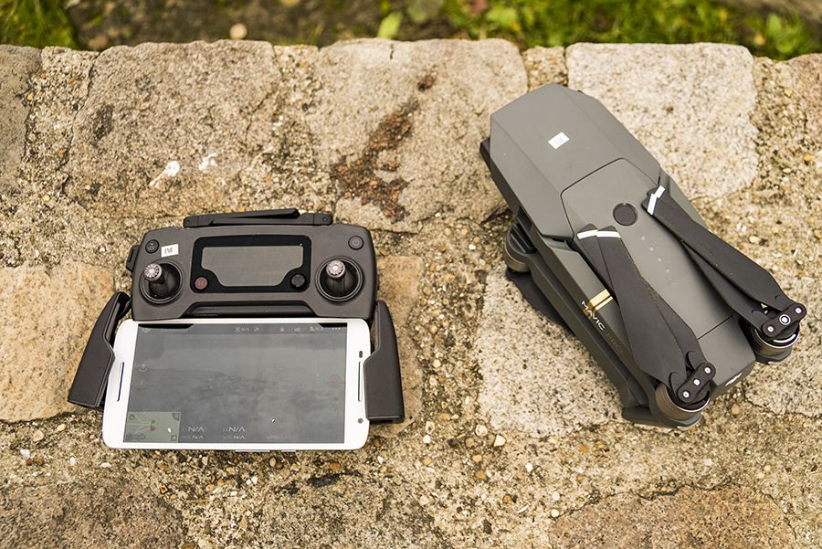 DJI Mavic Pro test review avectelecommande