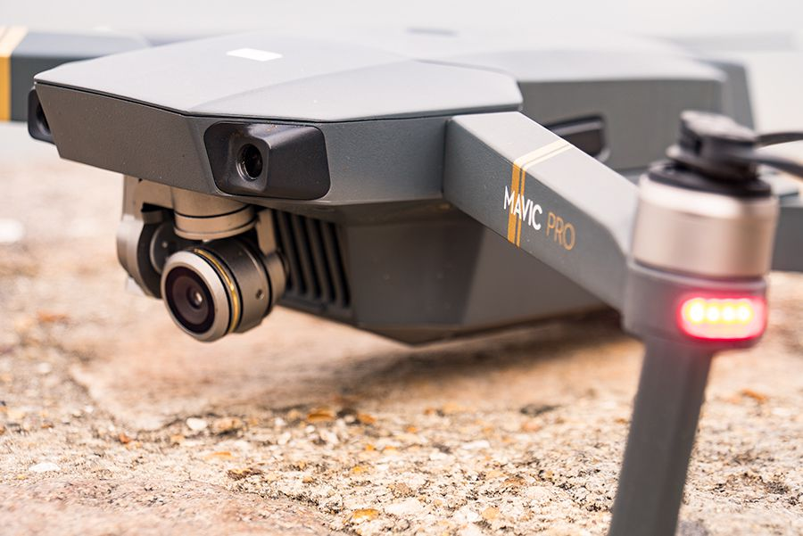 DJI Mavic Pro test review detail cameras