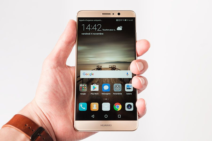 Test Huawei Mate 9 prise en main