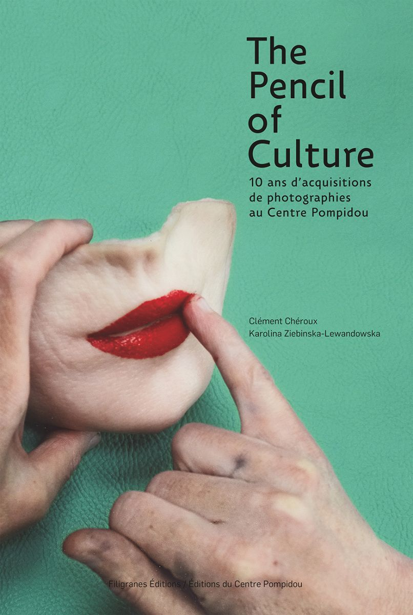 Sélection des livres photo de Noël 2016, The Pencil of Culture – 10 ans d'acquisitions de photographies au Centre Pompidou, couverture