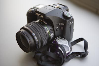 pentax k200d performances