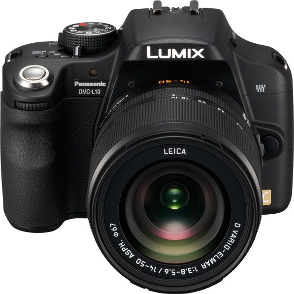 Panasonic Lumix L10 face