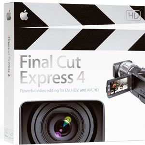 Apple Final Cur Express 4 boite