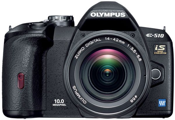 Olympus E-510 moins cher