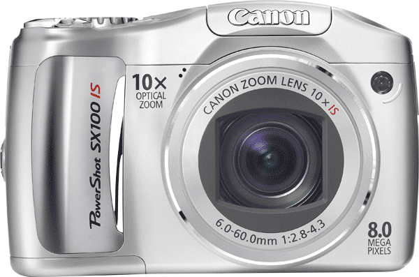 Canon PowerShot SX100 IS le test