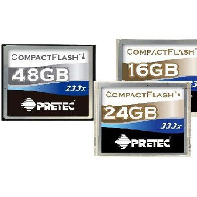 carte compact flash pretec 48 Go