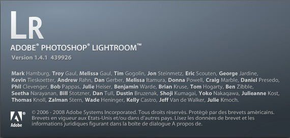 Adobe Photoshop Lightroom 1.4.1