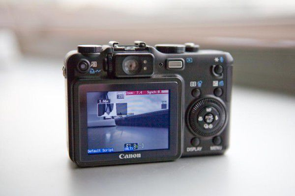 Canon G7 Firmware Hack