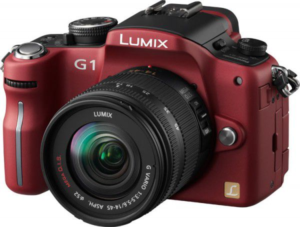 Panasonic Lumix G1 rouge
