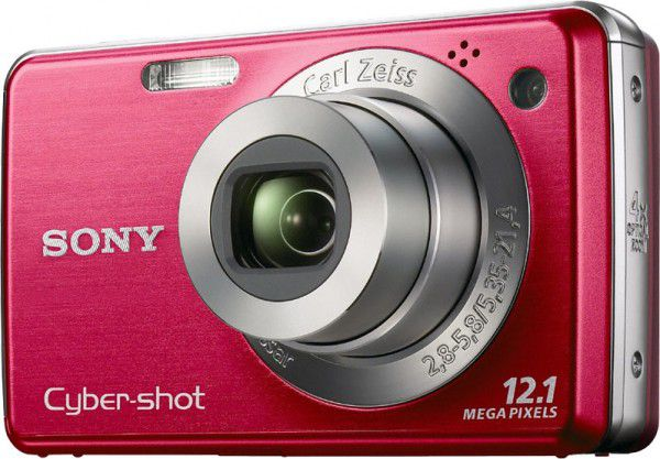 Sony Cyber-shot DSC-W230 face rouge