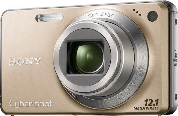 Sony Cyber-shot DSC-W270 face or