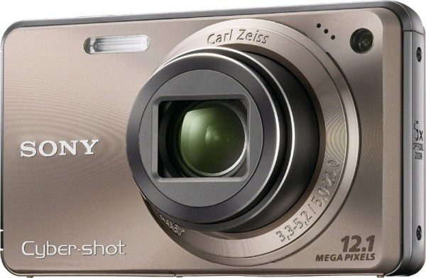 Sony Cyber-shot DSC-W290 face bronze