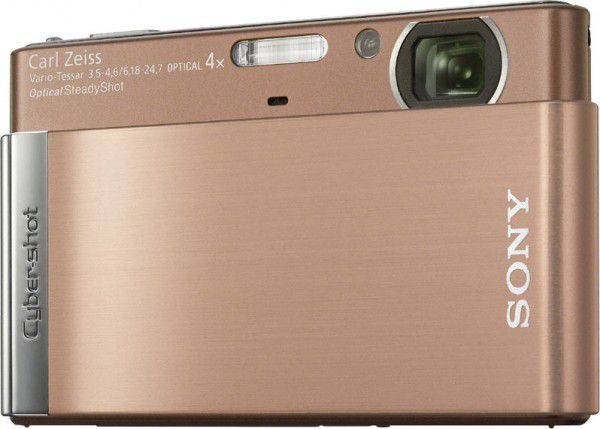 Sony Cyber-shot DSC-T90 face marron