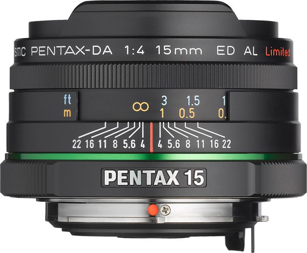 Pentax SMC 15 mm f/4 ED AL Limited