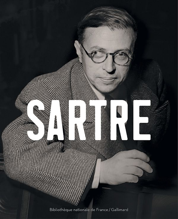 Couverture du catalogue Sartre, 2005