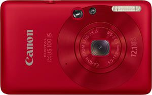 Canon Ixus 100 IS test review