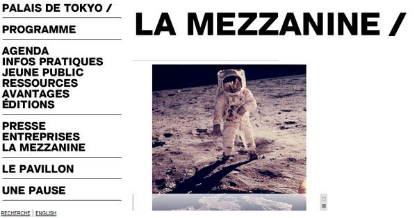 Exposition photographique A man on the moon Palais de Tokyo