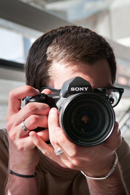 Sony Alpha 850 prise en main