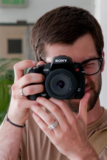 Sony Alpha 500 prise en main