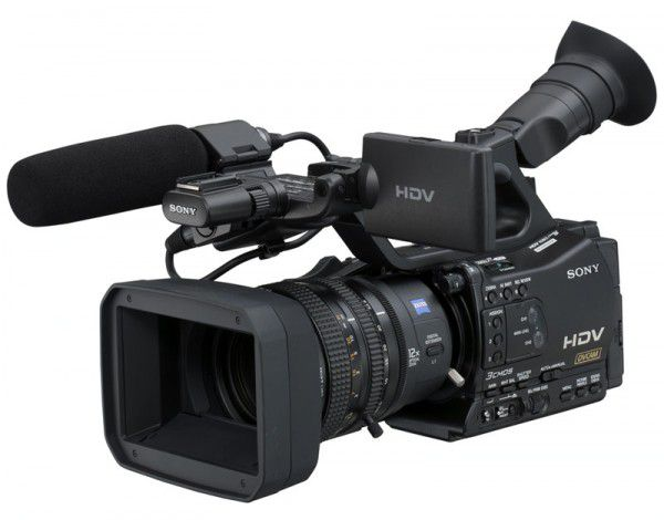Sony HVR-Z7 test review