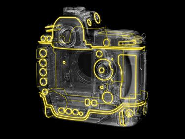 Nikon D3s joints de protection