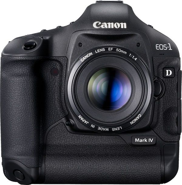 Canon 1D Mark IV face