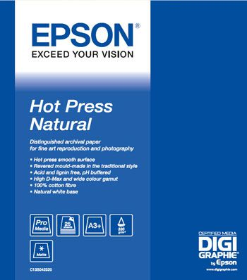 Epson Hot Press natural test review