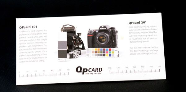qpcard 101 v2 test review