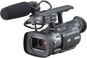JVC GY-HM100 test review
