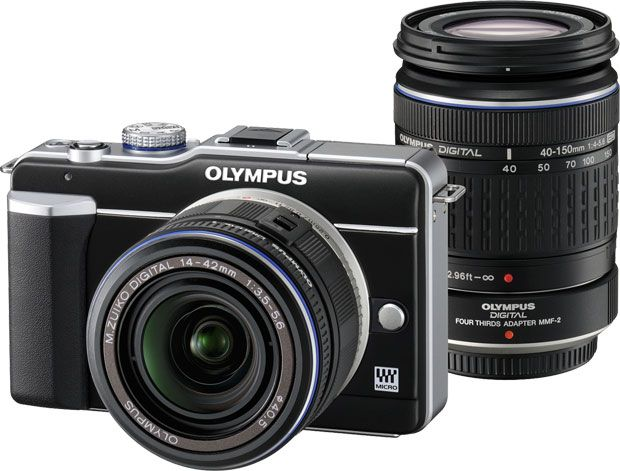 Olympus Pen E-PL1 double kit 14-42 mm f/3,5-5,6 + 40-150 mm f/4-5,6