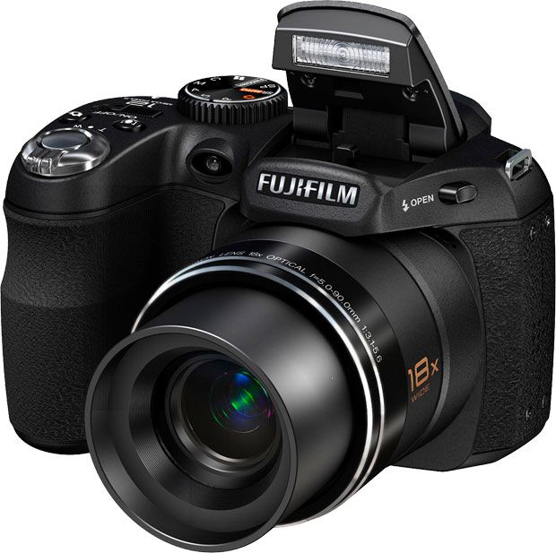 Fujifilm finepix s2500hd face