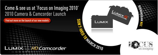 Nouveaux Panasonic Lumix et Lumix G au salon Focus On Imaging