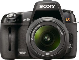 Sony Alpha 450 test review