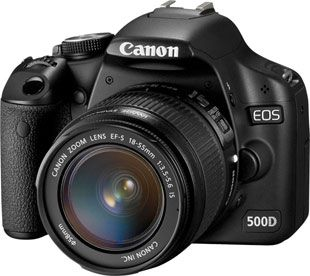 Canon EOS 500D test review