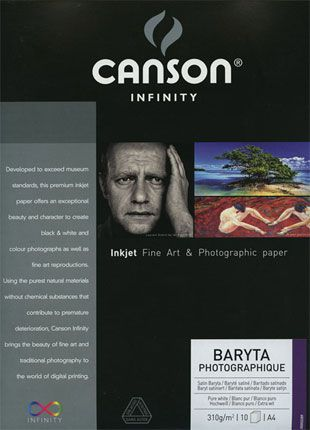 Test papier photo Canson infinity Baryta