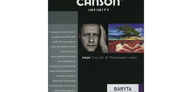 Test papier photo : Canson Infinity Baryta