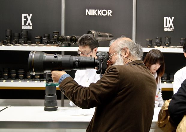 stand Nikon salon photo CP+