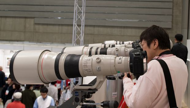 Canon salon photo CP+ Japon