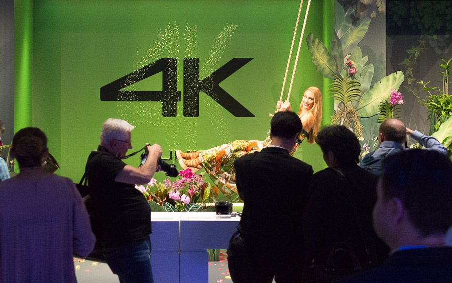 photokina 2016, stand Panasonic 4K