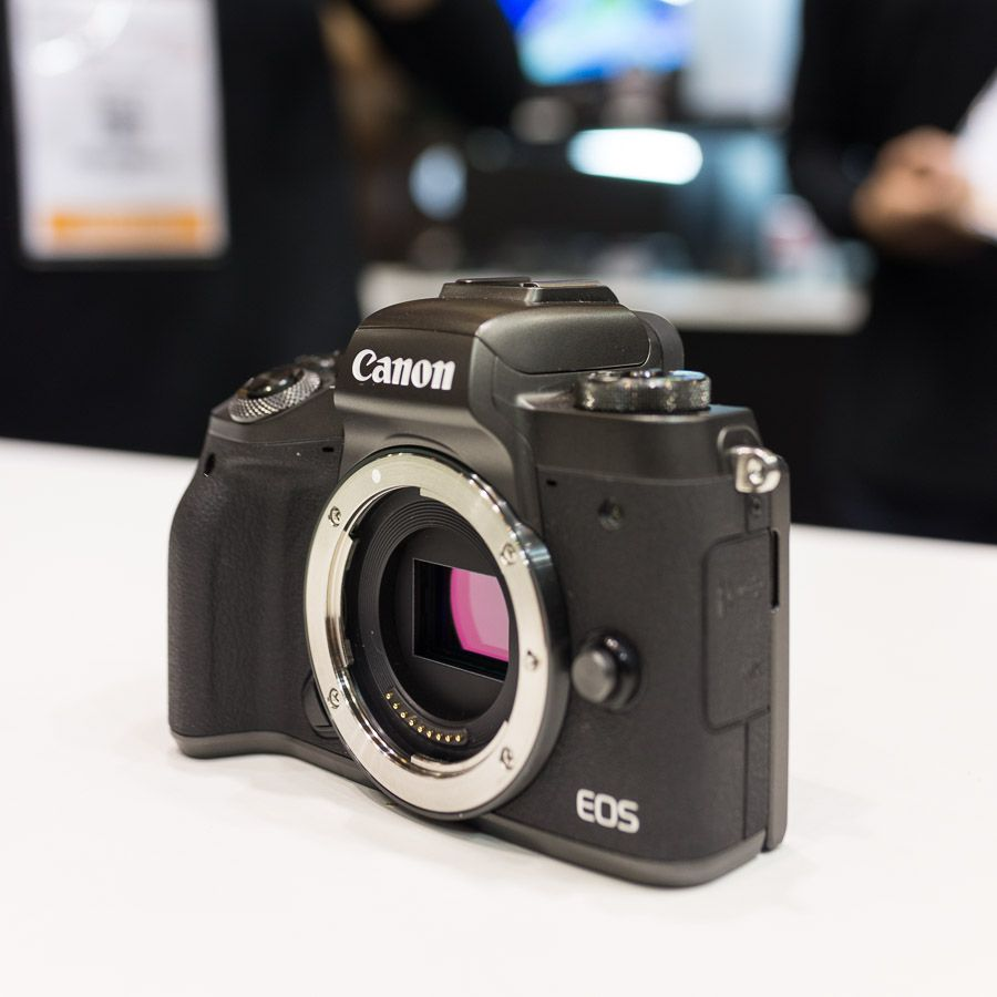 Stand Canon salon de la photo EOS M5