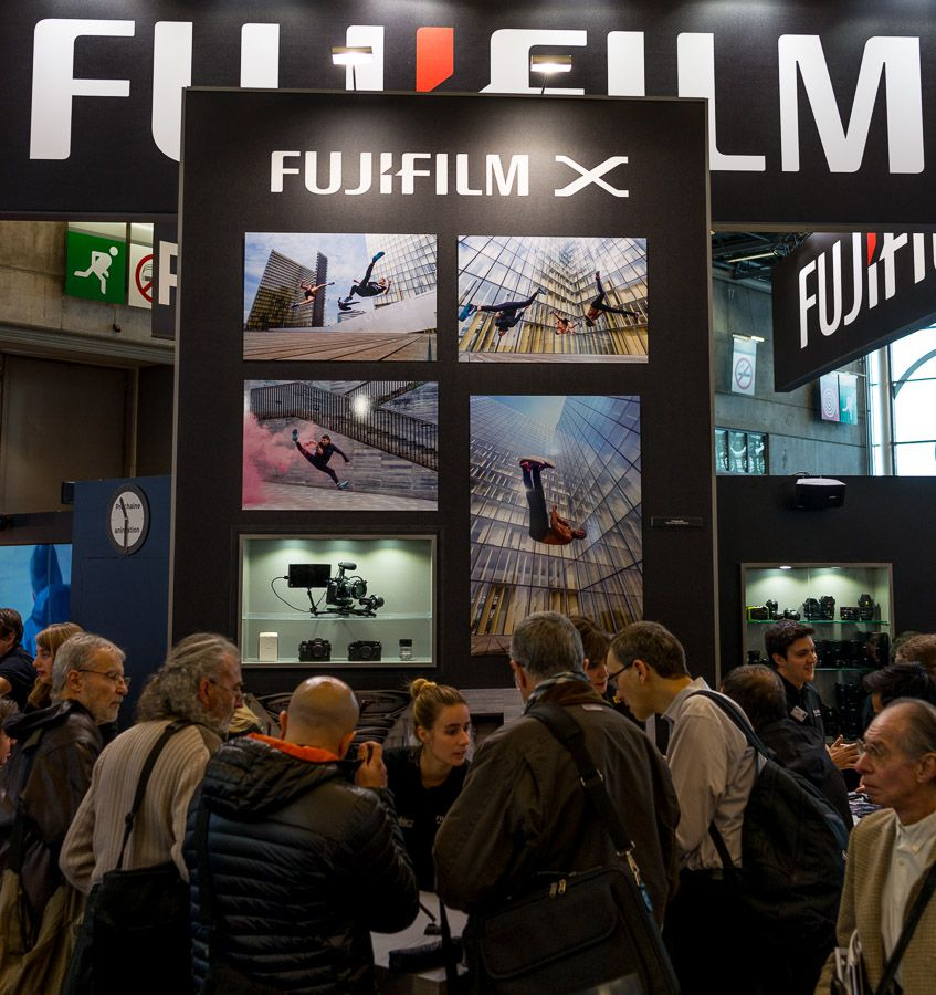 stand fujifilm salon de la photo 2016