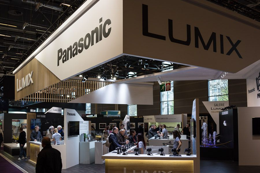 salon de la photo 2016 stand Panasonic