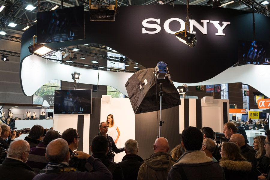 Sony au salon de la photo 2016