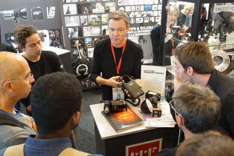 Visite VIP salon de la photo 2016 MMF-Pro