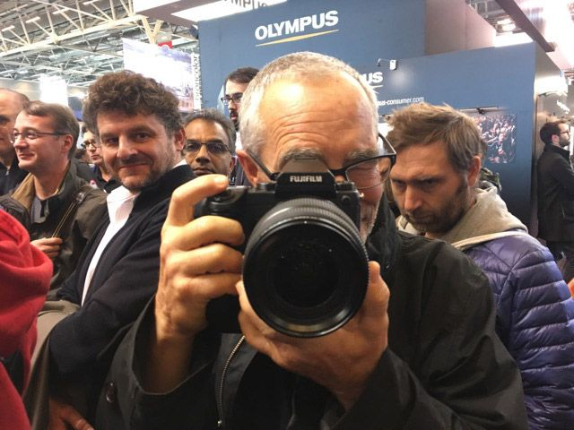 Visite VIP salon de la photo 2016 Fujifilm